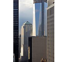 Construction of One World Trade Center May 16, 2012 in New York, NY Photographic Print