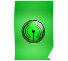 Wi-Fi Icon by Chillee Wilson Poster