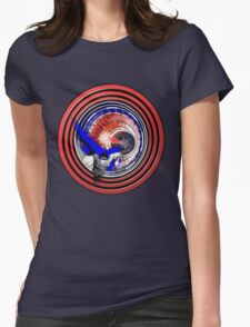 Super Collider Womens Fitted T-Shirt