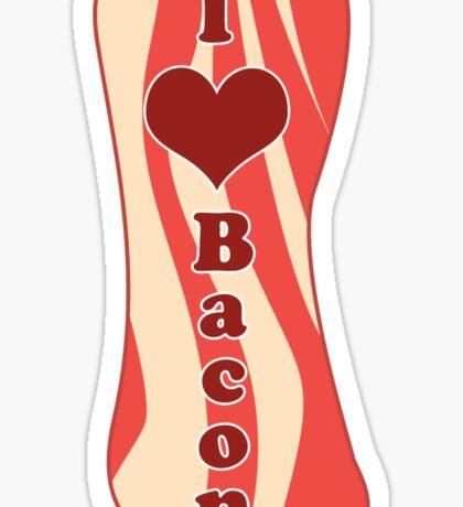 I Heart Bacon! Sticker