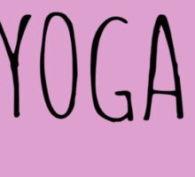 Yoga Love Sticker