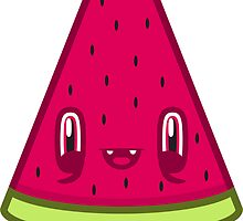 Watermelon Slice by Noth