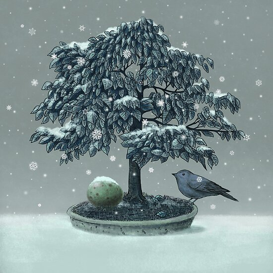 Snow Bird  by Terry  Fan
