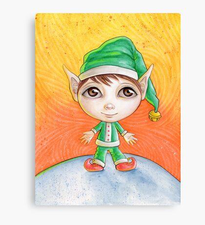 Holiday Elf Canvas Print