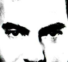 Neil Diamond 1980's B/W Sticker