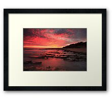 i visit you in another dream ... Framed Print