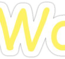 o Wow Sticker