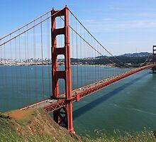 #1091  Golden Gate Bridge In Color by MyInnereyeMike