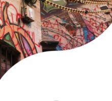 Melbourne Street Art Yin & Yang Sticker