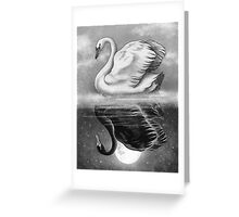 Dark Mirror  Greeting Card