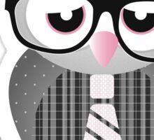 A wise owl Sticker