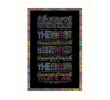 Phenomenal Woman By Maya Angelou - Typographic Poster Art Print