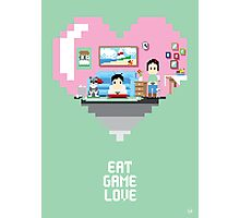 Eat Game Love Photographic Print