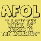 AFOL 'I Love the Smell of Bricks in the Morning' by Customize My Minifig by ChilleeW
