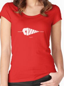 GURREN LAGANN - Simons Drill Women's Fitted Scoop T-Shirt