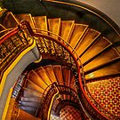 Grand Stairway. by Julie  White