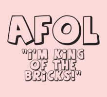 AFOL 'I'm King of the Bricks' by Customize My Minifig by ChilleeW