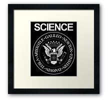 Science Rocks Framed Print