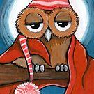 Sleepy Owl by Lisa Marie Robinson