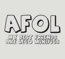 AFOL 'My Best Friends are Minifigs' by Customize My Minifig by ChilleeW
