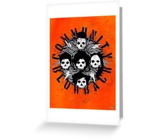 Misfits Community Blow Back Greeting Card