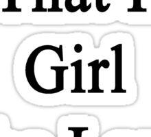 My Girlfriend Is That Hot Girl Who Loves Pandas  Sticker