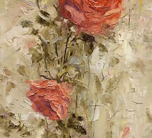 Roses in the Garden by Oleg Trofimoff