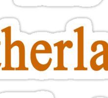 The Netherlands First  Sticker