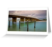 Forster blue 02 Greeting Card