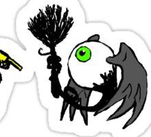 Fleye By Cleaning Sticker