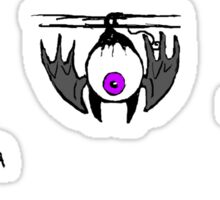 Fleye By Costumes Sticker