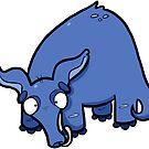 Creepies - Aardvark (Sticker) by Creepy Creations
