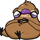 Creepies - Sloth (Sticker) by Creepy Creations