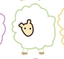 sheep by BLANKTOBAM Sticker