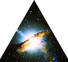 Centaurus A Triangle   Fresh Universe by SirDouglasFresh