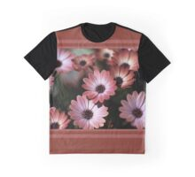African Daisy Zion Red Graphic T-Shirt