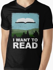 I Want to Read T-Shirt
