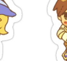 Garen and Lux Sticker