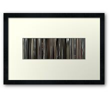 Moviebarcode: Cave of Forgotten Dreams (2010) Framed Print