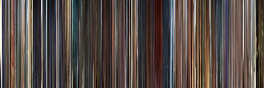 Moviebarcode: Megamind (2010) by moviebarcode