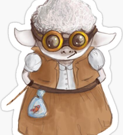 GoggleSheep - Miss Kali Sticker