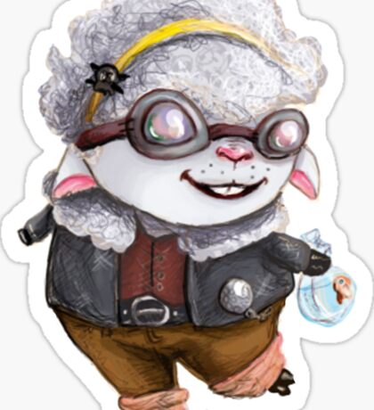 GoggleSheep - Kina Sticker