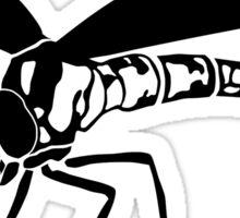 Dragonfly Silhouette Sticker
