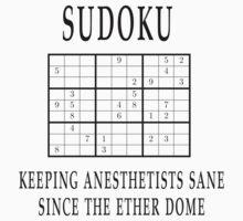 Sudoku anesthetists Kids Clothes