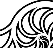 Nautilus Outline Sticker
