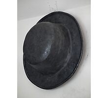 Heavy Metal Hat, It's made of Lead Photographic Print