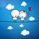 Let`s fall in love together by Media Jamshidi