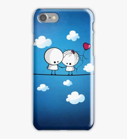 Let`s fall in love together iPhone Case/Skin