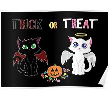 Trick or Treat Kittens Poster