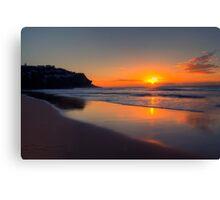 Good Morning Sunshine - Whale Beach, Sydney Australia  -  The HDR Experience Canvas Print